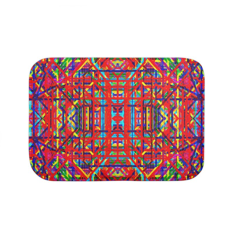 Neural Energy Home Bath Mat by earthfiredragon