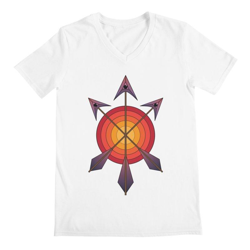 Arrows Men's V-Neck by earthfiredragon