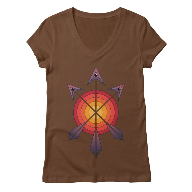 Arrows Women's Regular V-Neck by earthfiredragon