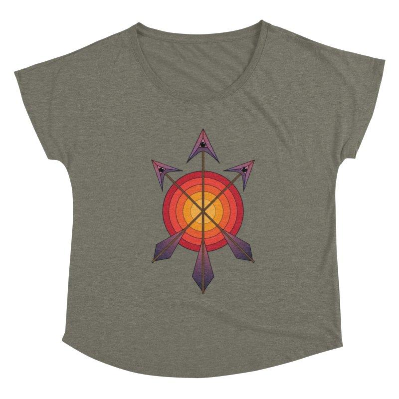 Arrows Women's Scoop Neck by earthfiredragon