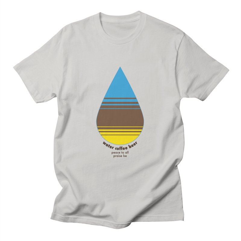 The Holy Trinity Men's T-Shirt by earthfiredragon