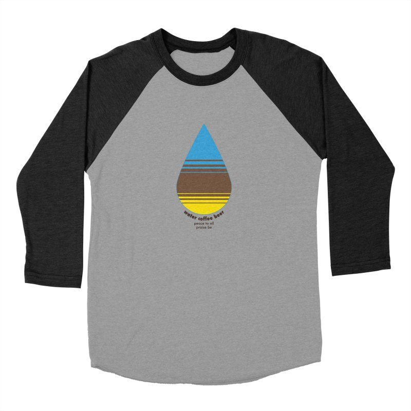 The Holy Trinity Women's Baseball Triblend Longsleeve T-Shirt by earthfiredragon
