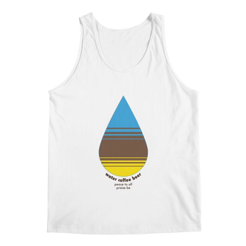 The Holy Trinity Men's Tank by earthfiredragon
