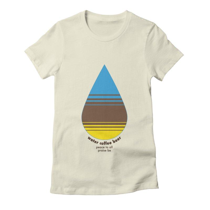 The Holy Trinity Women's T-Shirt by earthfiredragon