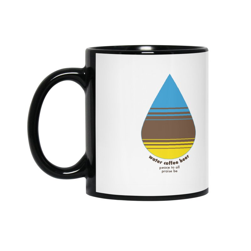 The Holy Trinity Accessories Mug by earthfiredragon
