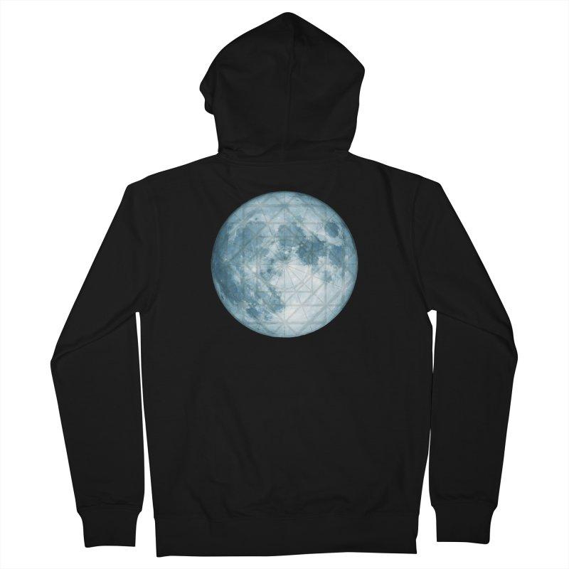 Super Moon Women's Zip-Up Hoody by earthfiredragon