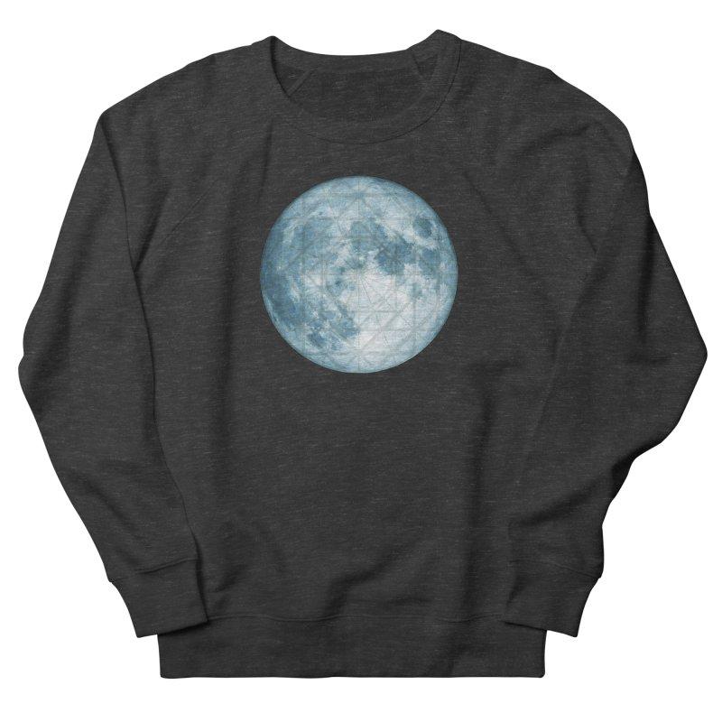 Super Moon Men's Sweatshirt by earthfiredragon