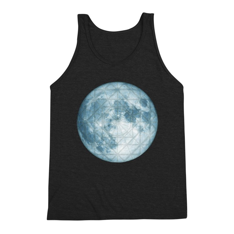 Super Moon Men's Triblend Tank by earthfiredragon