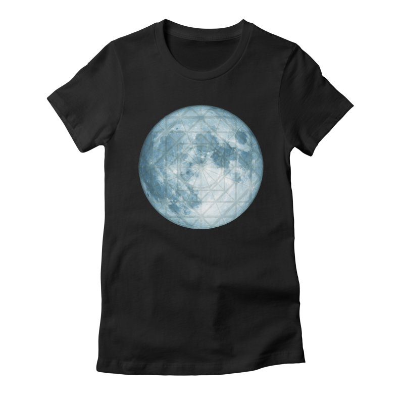 Super Moon Women's T-Shirt by earthfiredragon