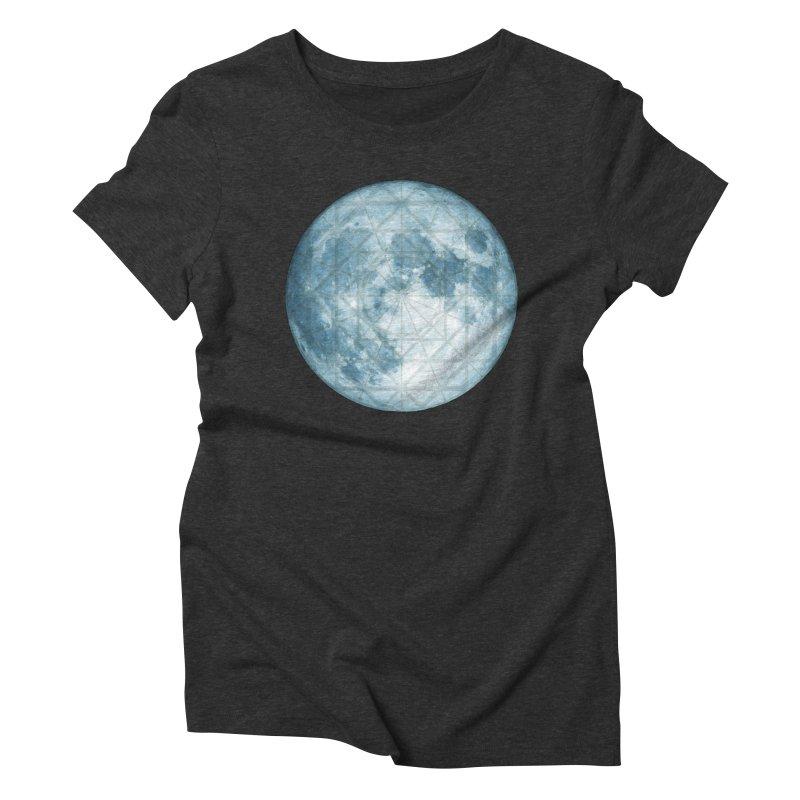 Super Moon Women's Triblend T-Shirt by earthfiredragon