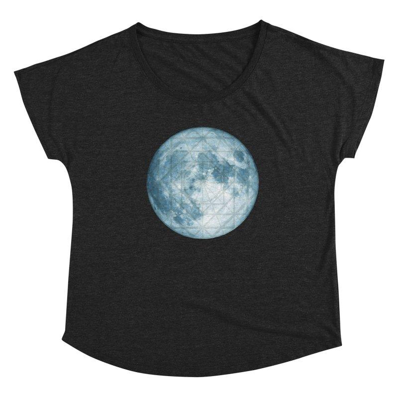 Super Moon Women's Scoop Neck by earthfiredragon