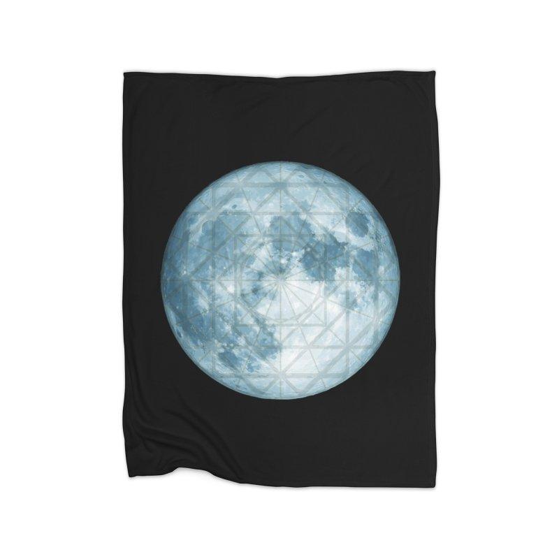 Super Moon Home Blanket by earthfiredragon