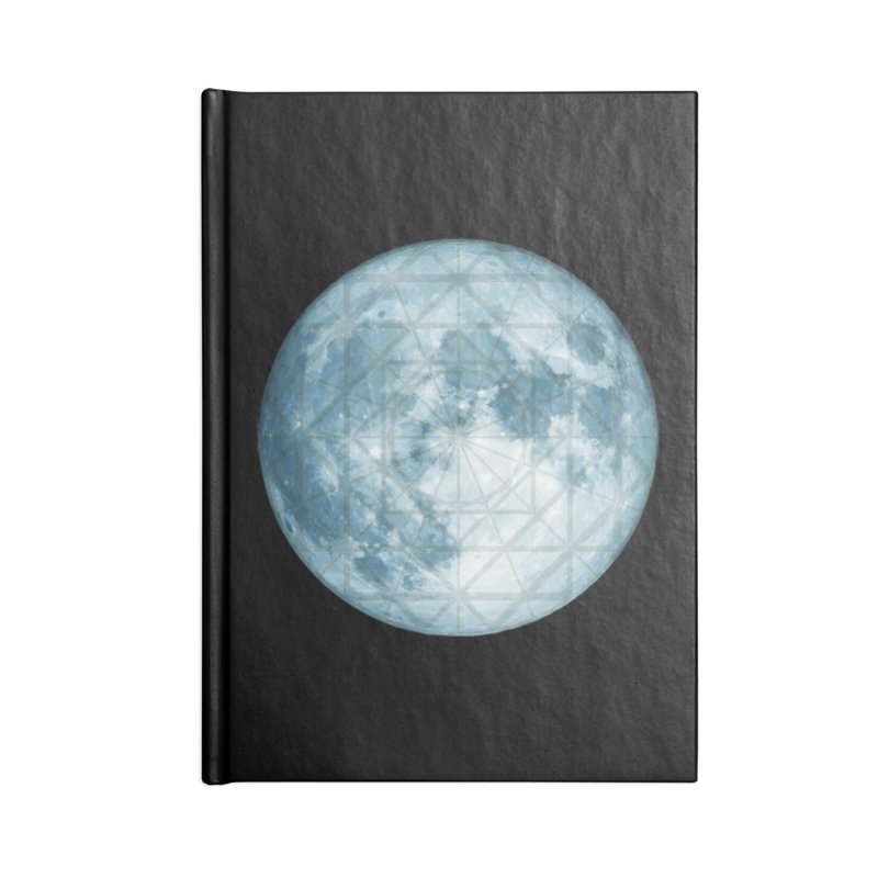 Super Moon Accessories Lined Journal Notebook by earthfiredragon