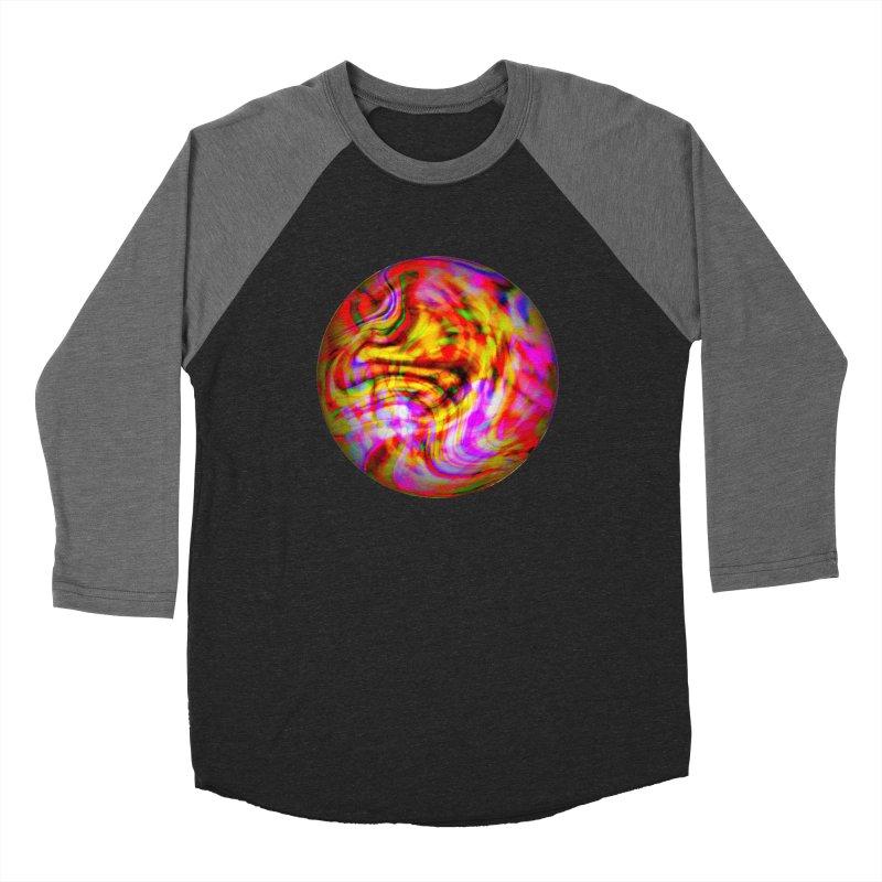 Lost Marble Women's Baseball Triblend Longsleeve T-Shirt by earthfiredragon