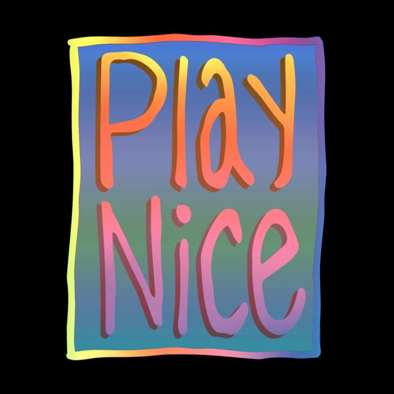 Play Nice Men's T-Shirt by earthfiredragon