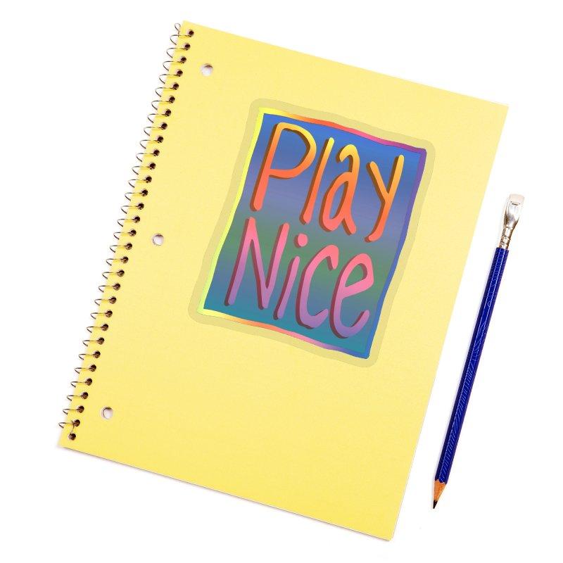 Play Nice Accessories Sticker by earthfiredragon