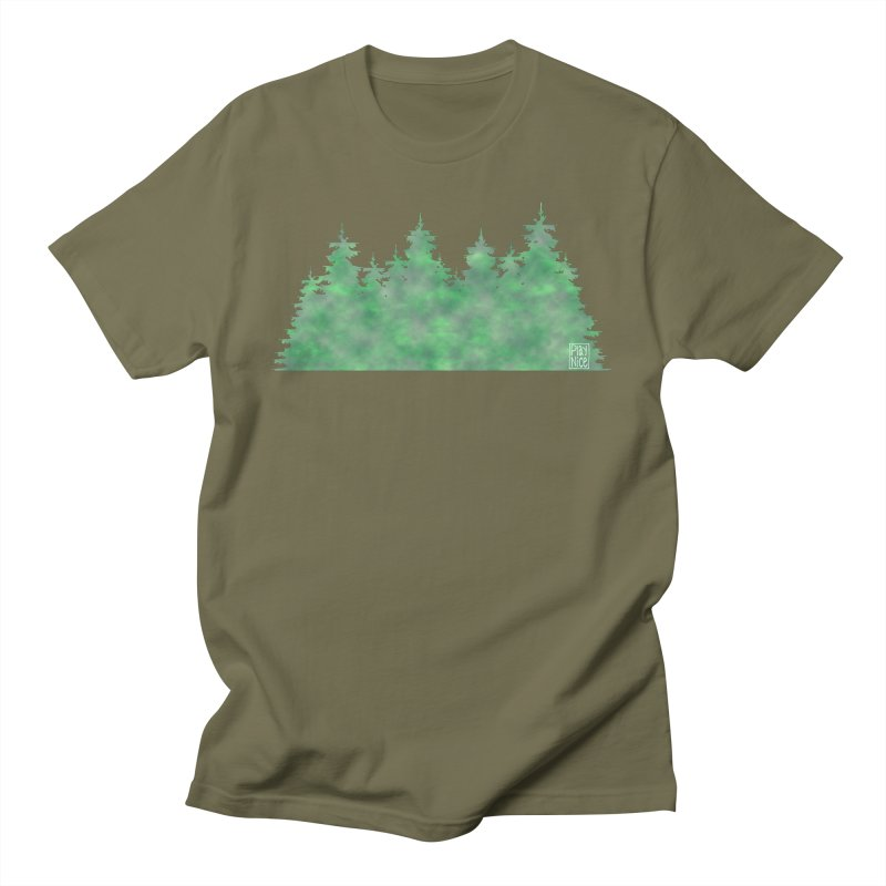 Nice Trees Men's T-Shirt by earthfiredragon