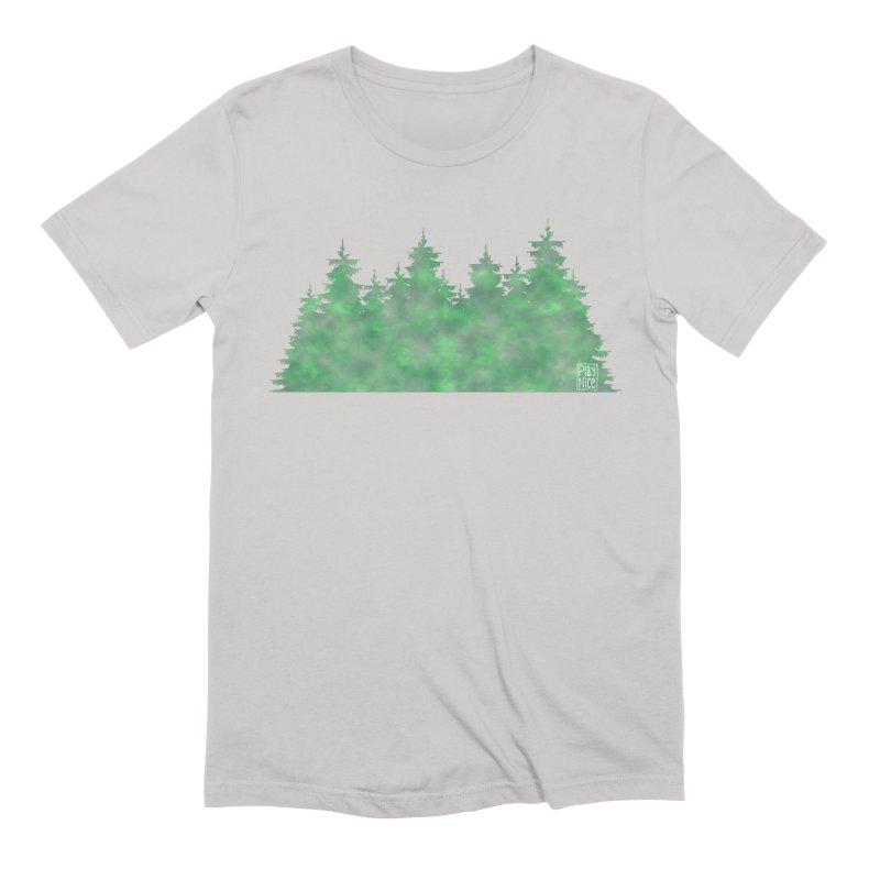 Nice Trees Men's Extra Soft T-Shirt by earthfiredragon