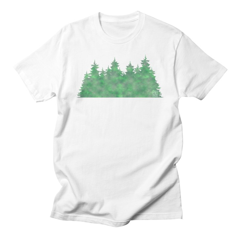 Nice Trees Men's T-Shirt by earthfiredragon