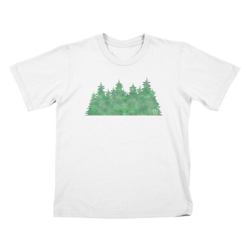 Nice Trees Kids T-Shirt by earthfiredragon