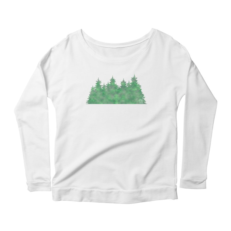 Nice Trees Women's Longsleeve T-Shirt by earthfiredragon