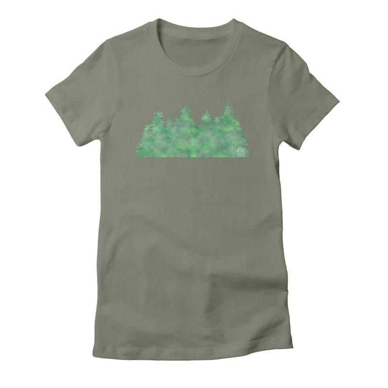 Nice Trees Women's T-Shirt by earthfiredragon