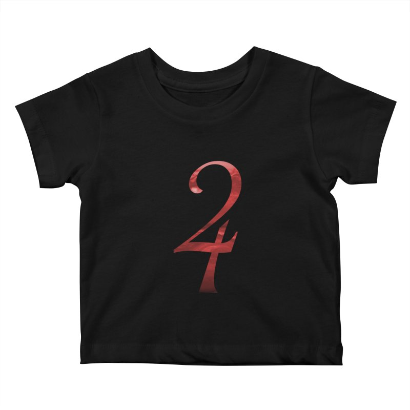 Jupiter Sign Kids Baby T-Shirt by earthfiredragon