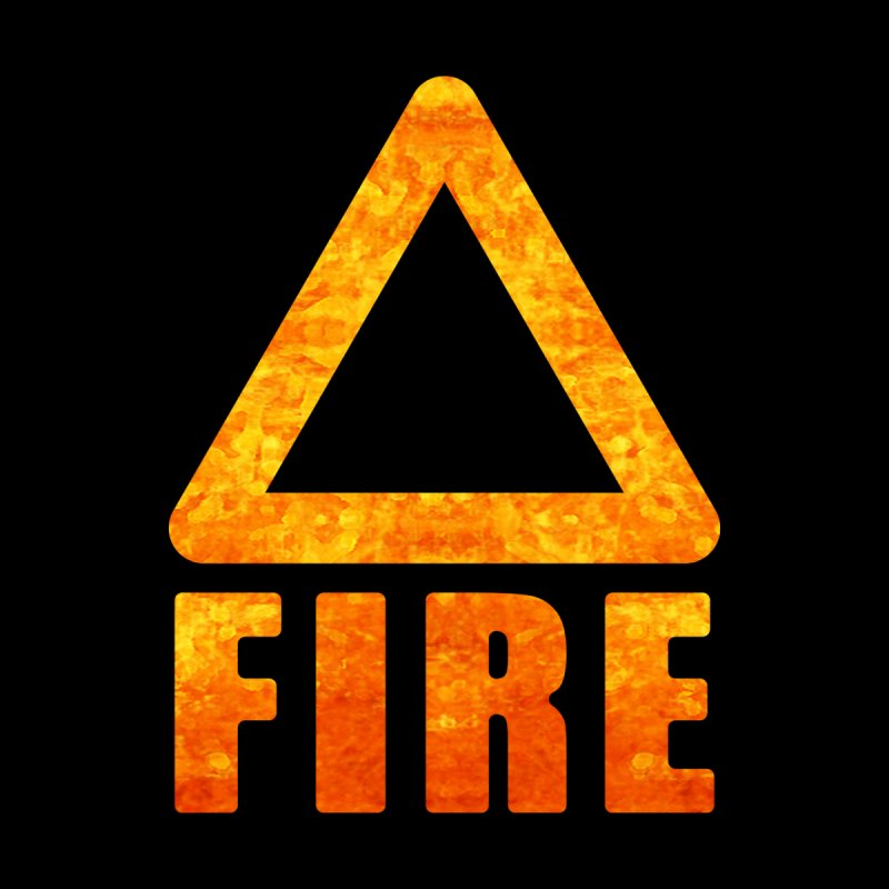 Fire Sign Women's T-Shirt by earthfiredragon
