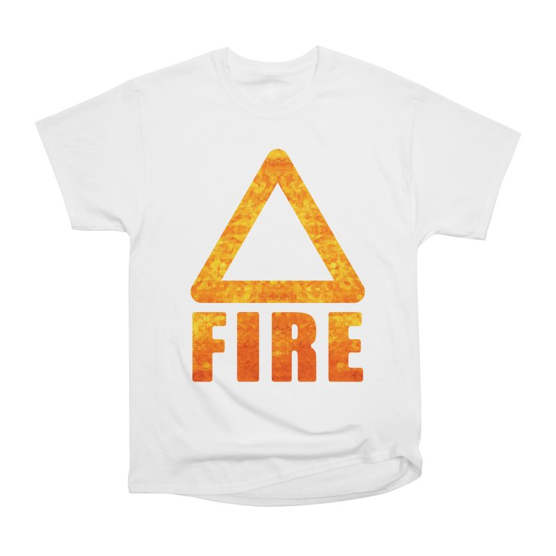 Fire Sign Women's T-Shirt by earthfiredragon