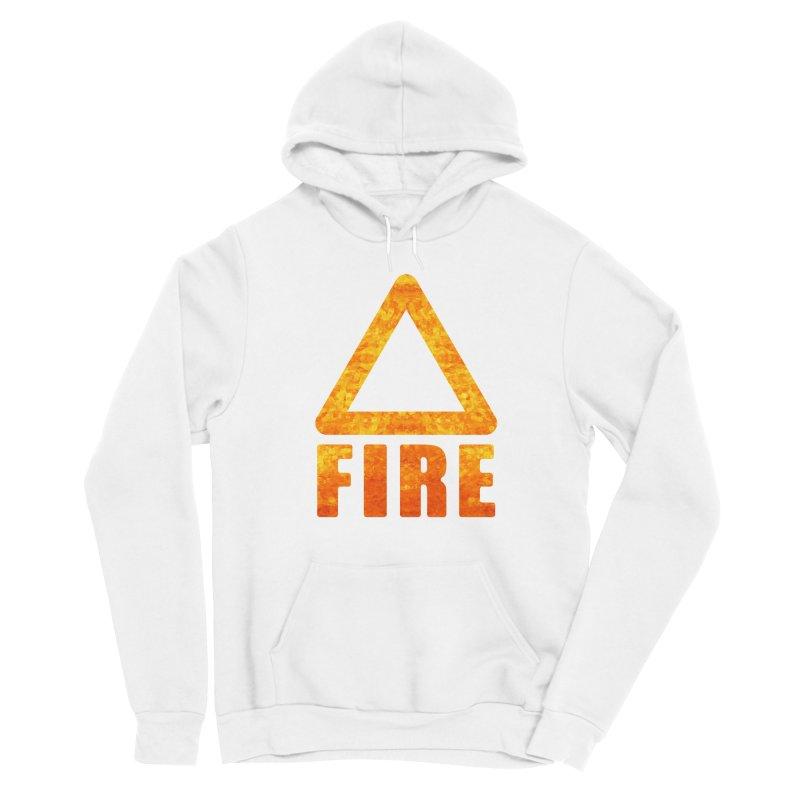 Fire Sign Men's Pullover Hoody by earthfiredragon