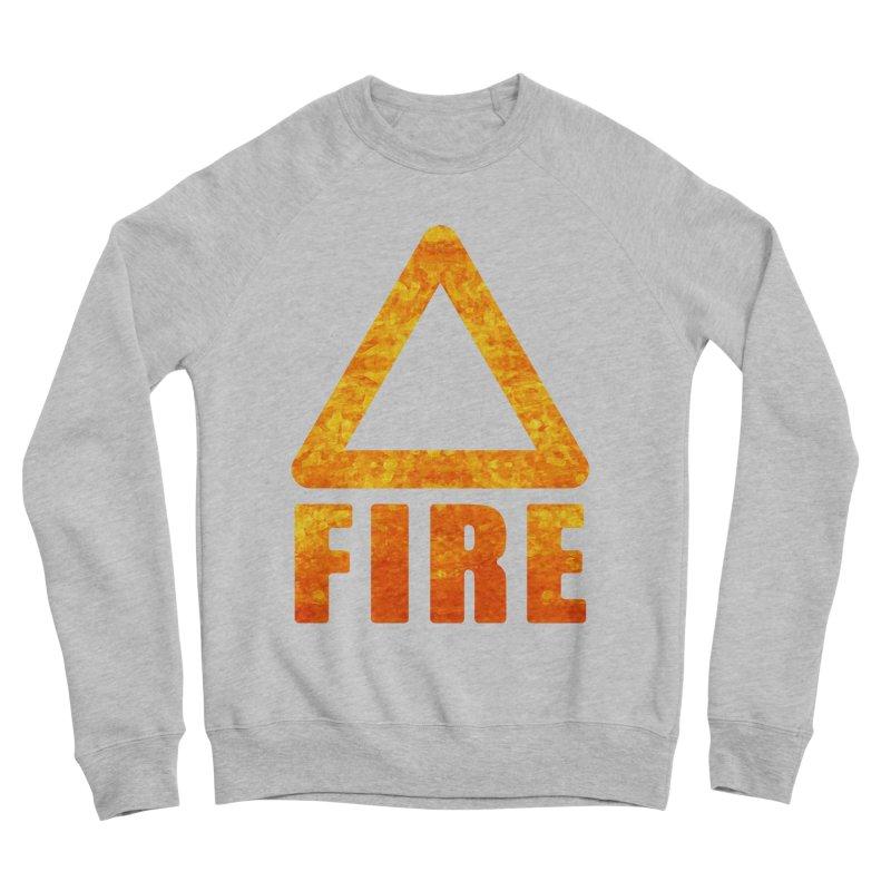 Fire Sign Women's Sponge Fleece Sweatshirt by earthfiredragon