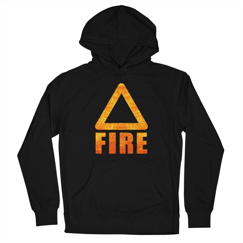 Fire Sign Women's French Terry Pullover Hoody by earthfiredragon