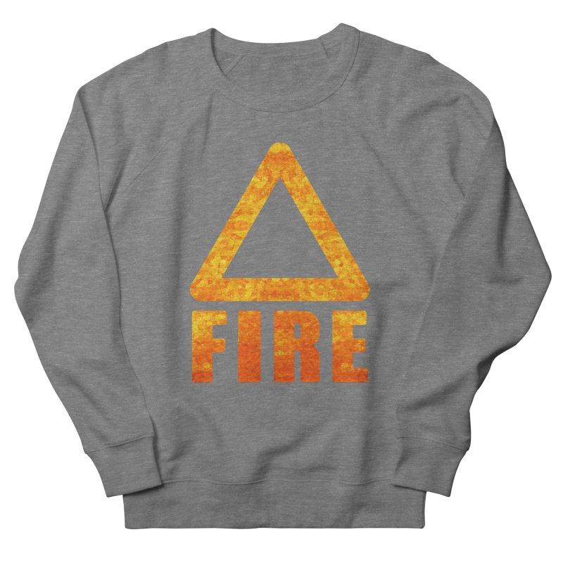 Fire Sign Men's Sweatshirt by earthfiredragon