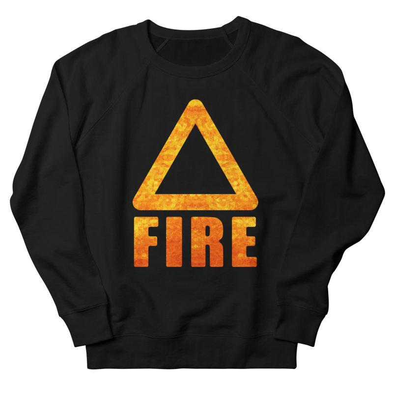 Fire Sign Men's Sweatshirt by earthfiredragon