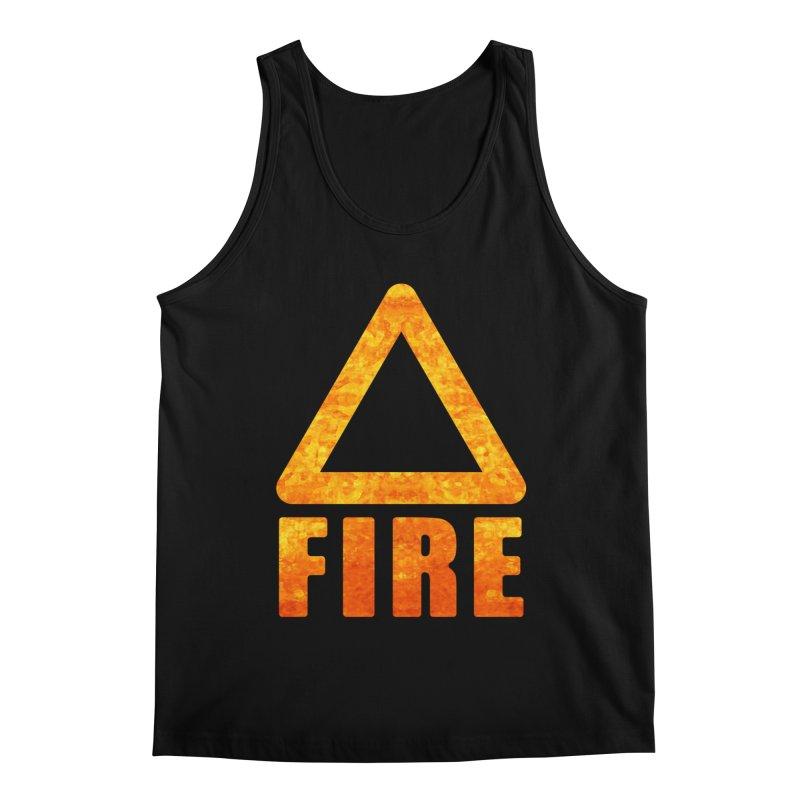 Fire Sign Men's Tank by earthfiredragon