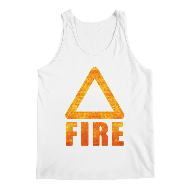 Fire Sign Men's Tank by earthfiredragon