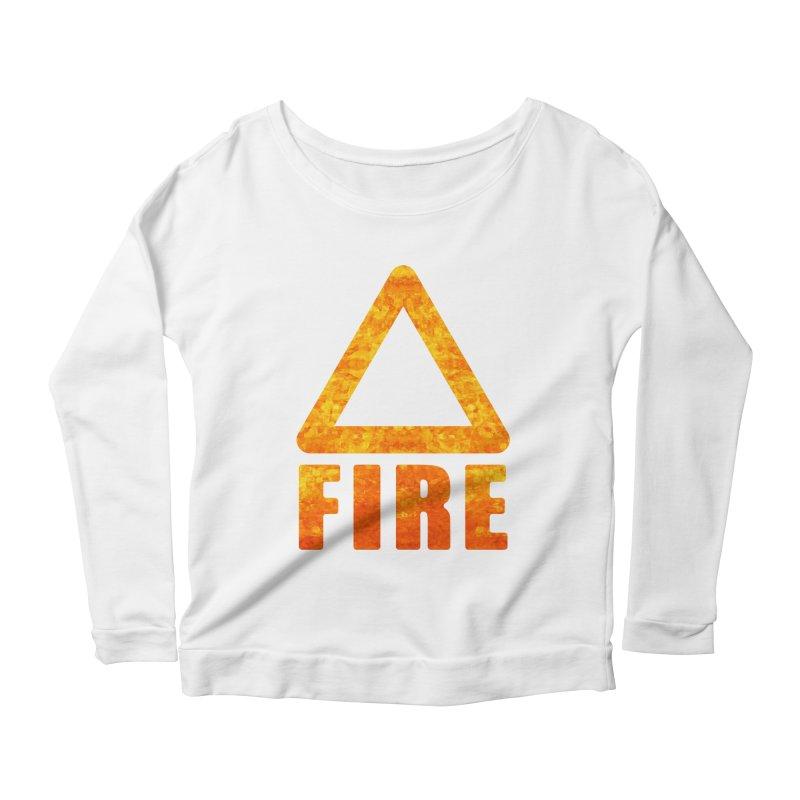 Fire Sign Women's Longsleeve T-Shirt by earthfiredragon