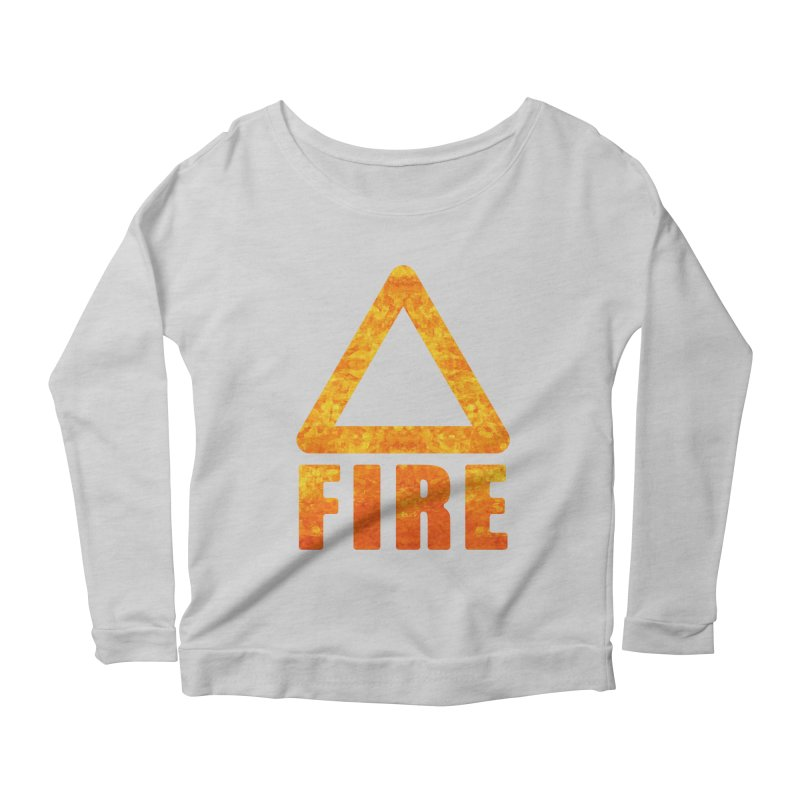 Fire Sign Women's Longsleeve T-Shirt by earthfiredragon