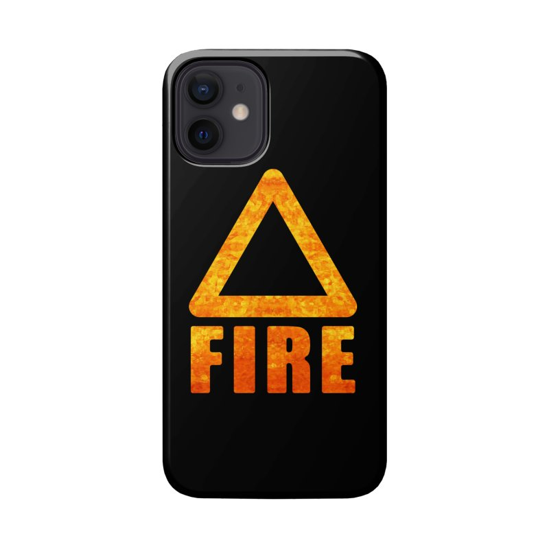 Fire Sign Accessories Phone Case by earthfiredragon