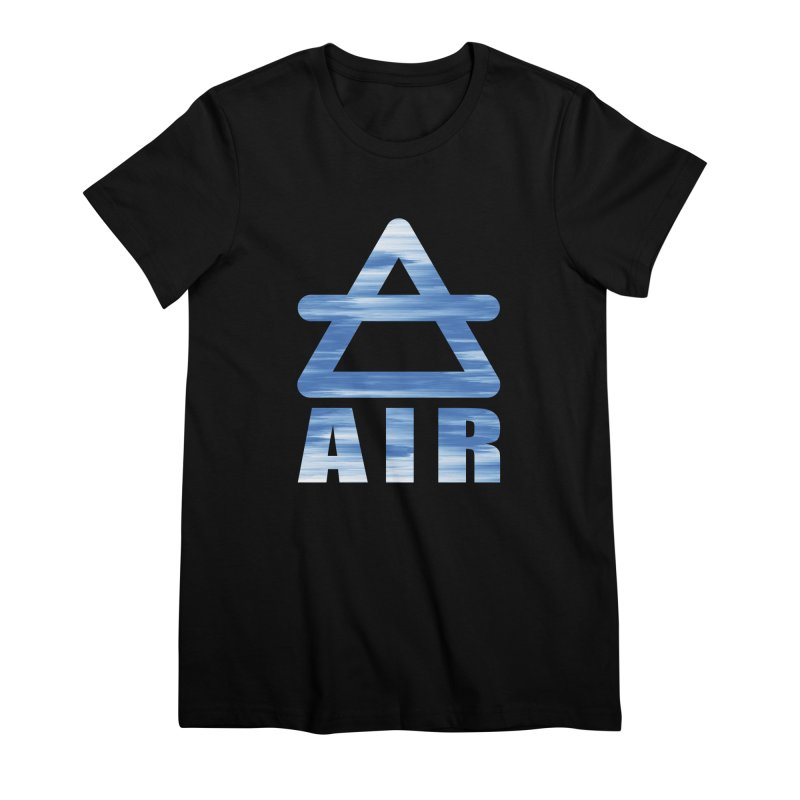 Air Sign Women's Premium T-Shirt by earthfiredragon