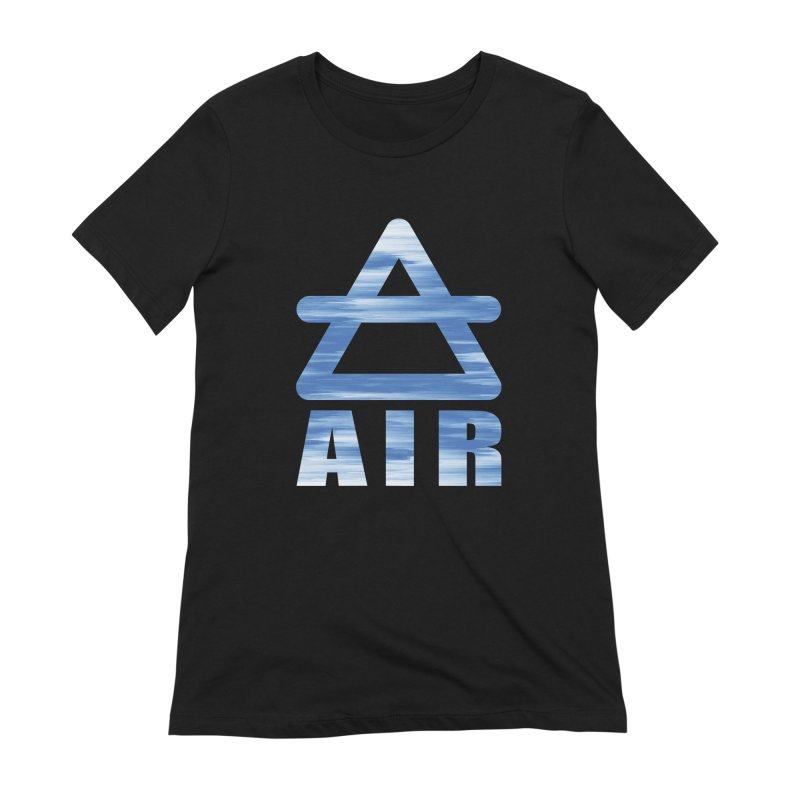 Air Sign Women's Extra Soft T-Shirt by earthfiredragon