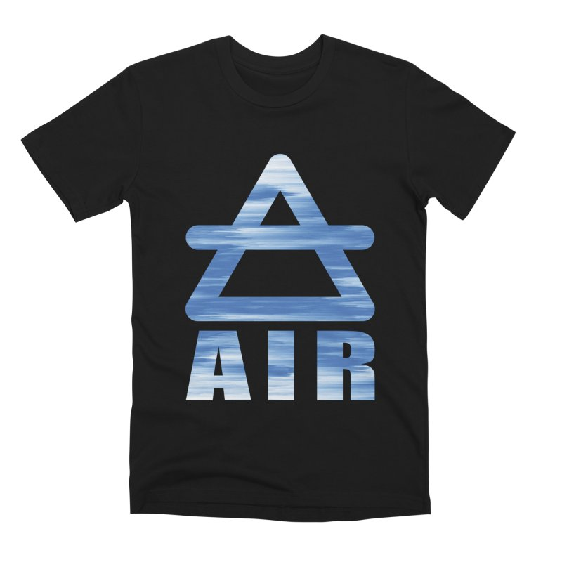 Air Sign Men's T-Shirt by earthfiredragon