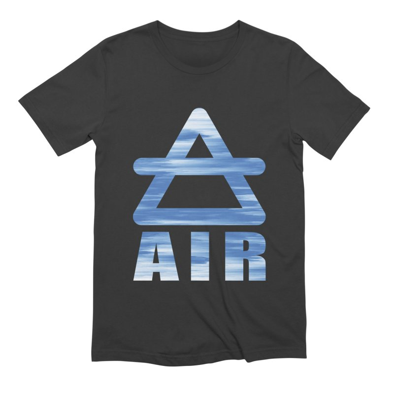 Air Sign Men's Extra Soft T-Shirt by earthfiredragon