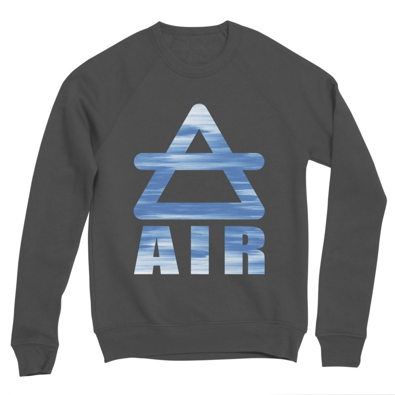 Air Sign Men's Sponge Fleece Sweatshirt by earthfiredragon