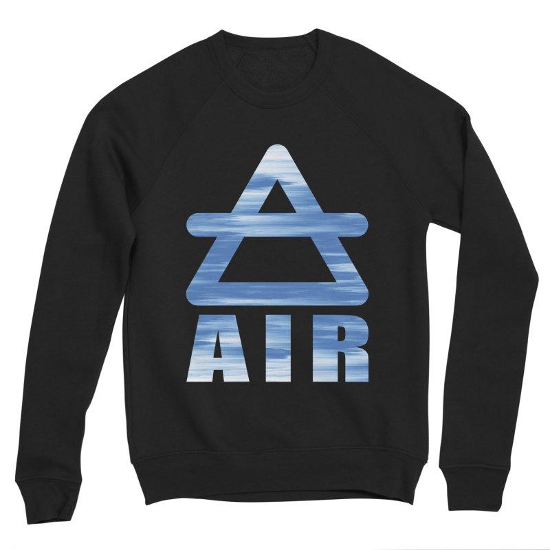 Air Sign Women's Sponge Fleece Sweatshirt by earthfiredragon