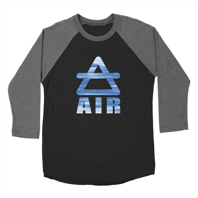 Air Sign Men's Baseball Triblend Longsleeve T-Shirt by earthfiredragon