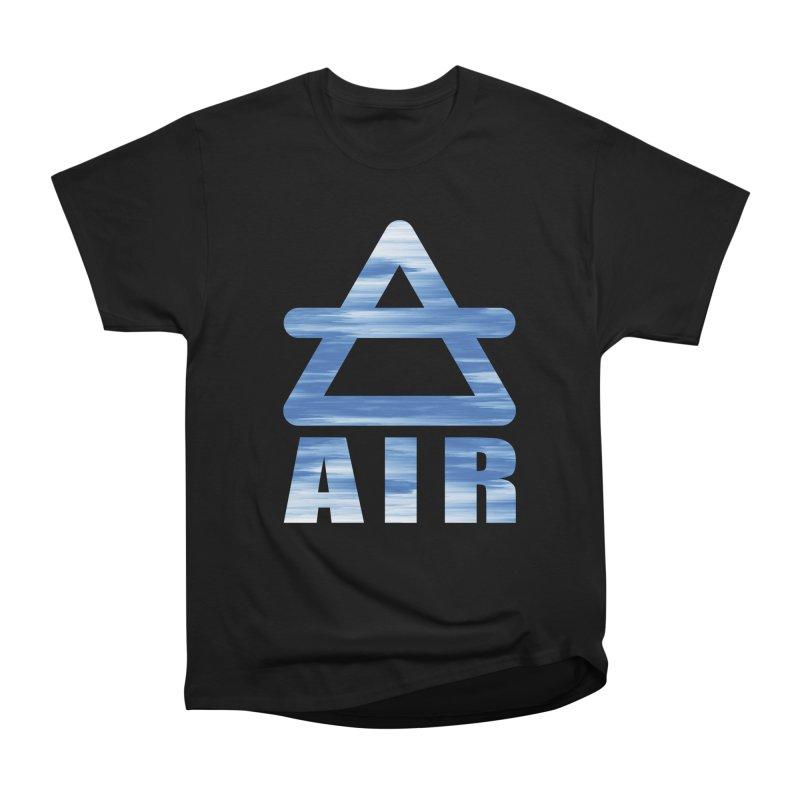Air Sign Men's Heavyweight T-Shirt by earthfiredragon