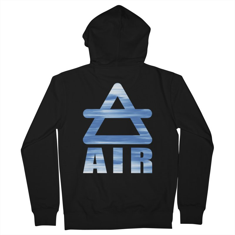 Air Sign Women's Zip-Up Hoody by earthfiredragon