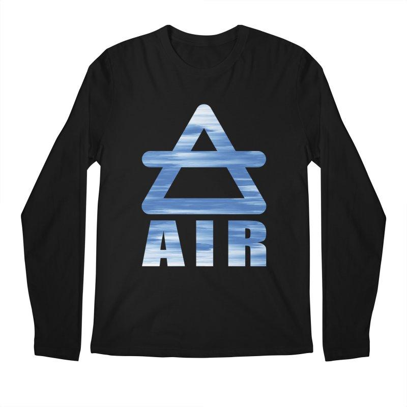 Air Sign Men's Longsleeve T-Shirt by earthfiredragon