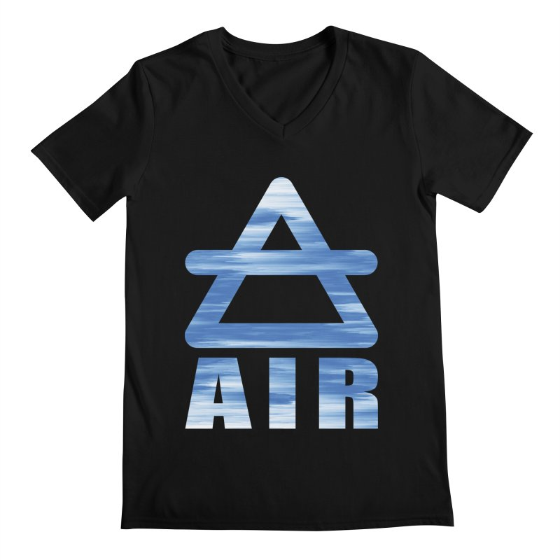 Air Sign Men's V-Neck by earthfiredragon